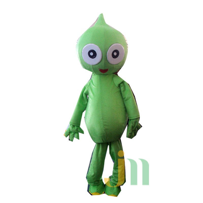 Green Dragon Cartoon Doll Strange Walking Doll Cartoon Clothing Sets Touguai Green Dragon Mascot Costume