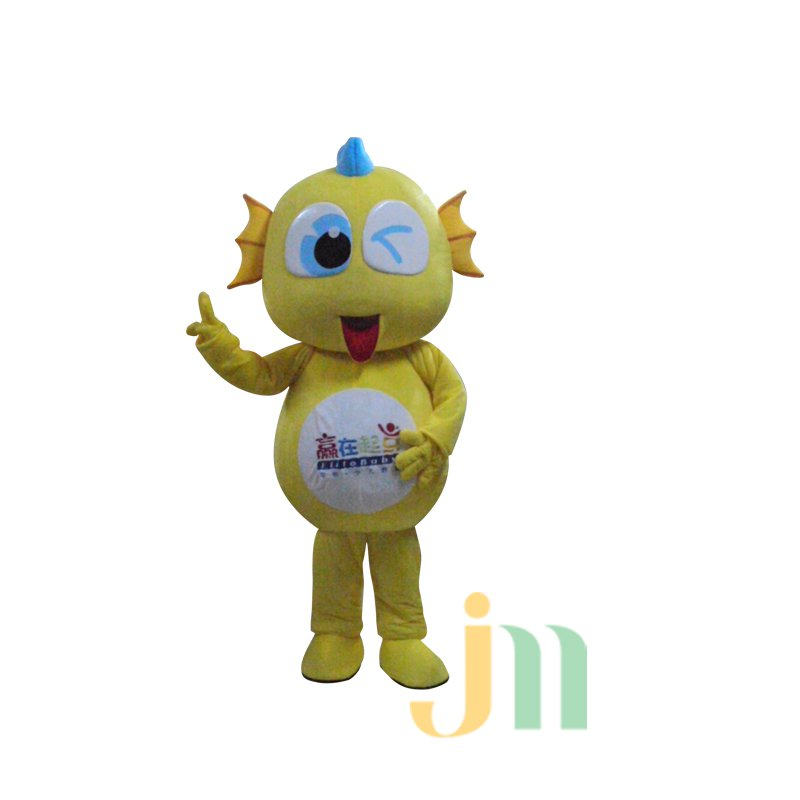 Horned Dragon Cartoon Doll Cartoon Walking Doll Clothing Hedging Horned Dragon Mascot Costume