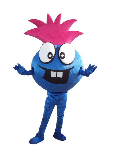 Silky Blue Cartoon Doll Cartoon Walking Doll Clothing Hedging Silky Blue Mascot Costume