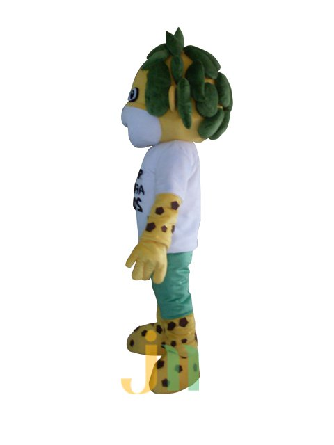 World Cup Lion Walking Doll Clothing Doll Cartoon Lion Hedging Cup Mascot Costume