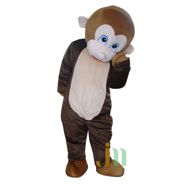Acrobatic Monkey Cartoon Walking Doll Clothing Doll Cartoon Monkey Acrobatics Hedging Mascot Costume