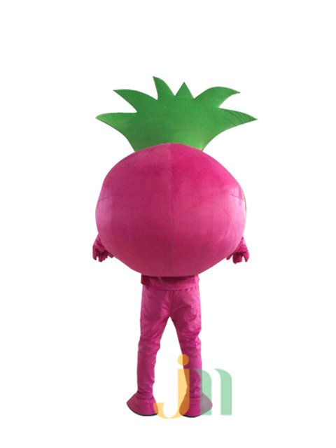 Cartoon Doll Clothing Walking Hedging Lucky Baby Doll Clothing Decorated Pink Ball Animation Activities Mascot Costume