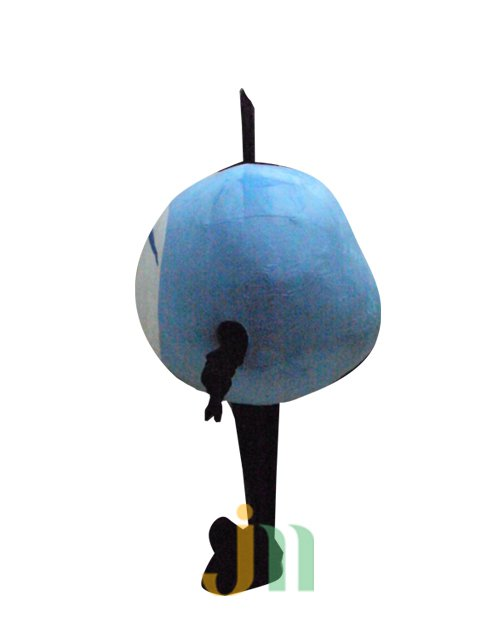 Cartoon Doll Clothing Walking Hedging Mascot Costume Suit Blue Stone Decorative Animation Activities