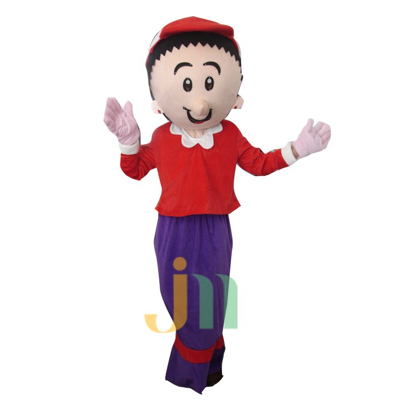 Popeye Oliver Doll Cartoon Walking Doll Clothing Hedging Oliver Mascot Costume