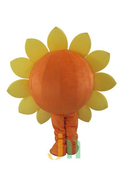 1 Sunflower Cartoon Doll Cartoon Walking Doll Clothing Doll Hedging Sunflower 1 Mascot Costume