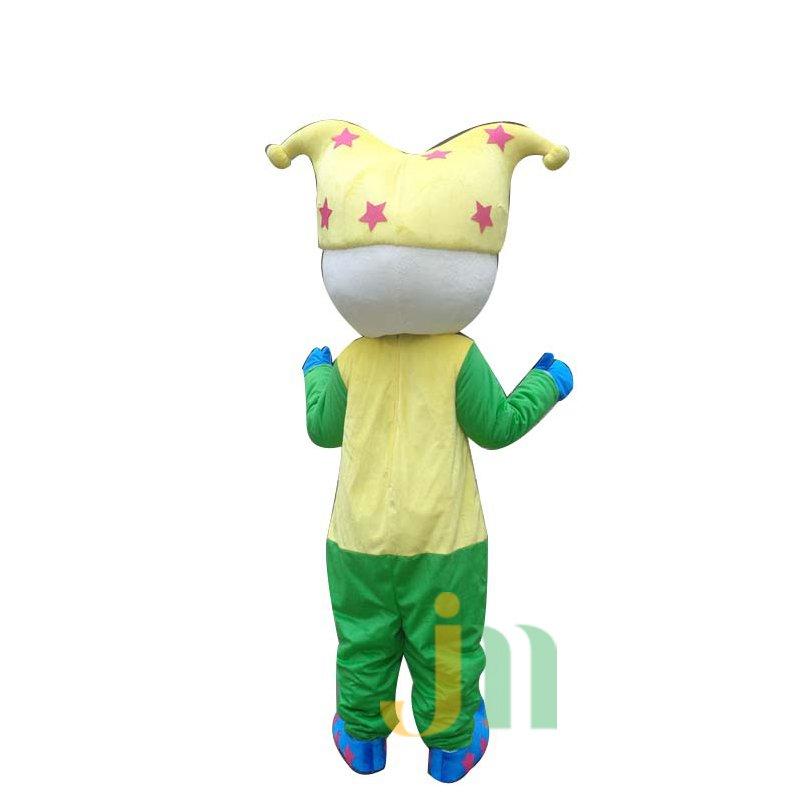 Cartoon Clown Doll Cartoon Walking Doll Clothing Sets Head Clown Mascot Costume