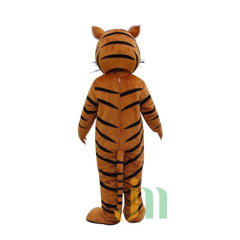 Cartoon Doll Cartoon Tiger Striped Clothing Striped Tiger Walking Doll Hedging Mascot Costume