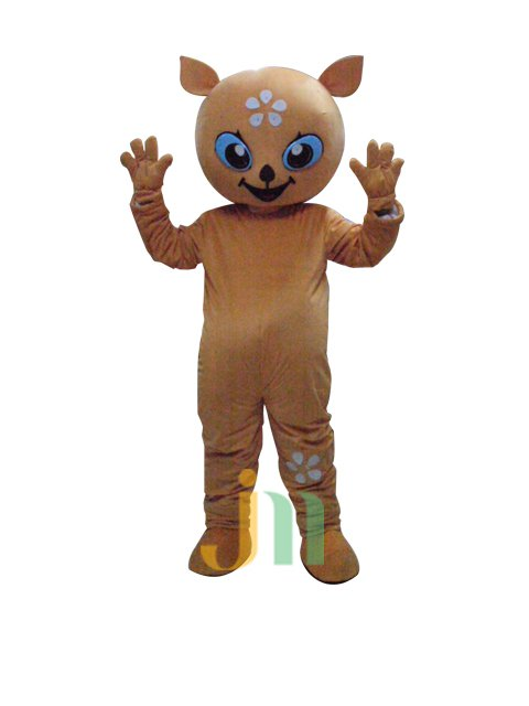 Cartoon Little Deer Walking Doll Doll Cartoon Clothing Sets Little Deer Doll Mascot Costume