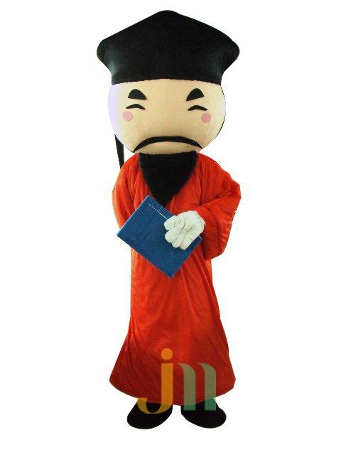 Cartoons Second Edition of Wealth Doll Cartoon Walking Doll Clothing Hedging Second Edition Fortuna Mascot Costume