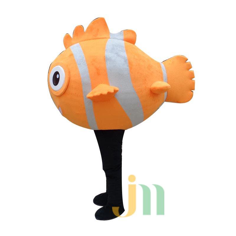 Chili Fish Cartoon Clothing Cartoon Walking Doll Doll Hedging Chili Fish Mascot Costume