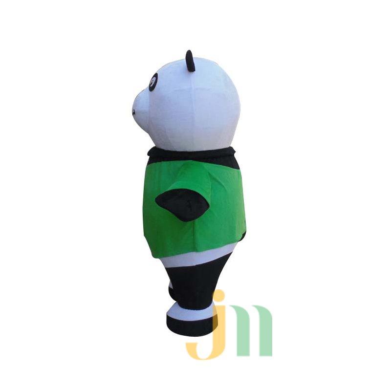 Three-dimensional Cartoon Panda Doll Cartoon Walking Doll Clothing Hedging Perspective Panda Mascot Costume