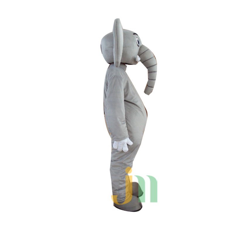 Big Gray Elephant Cartoon Doll Cartoon Walking Doll Clothing Hedging Big Gray Elephant Mascot Costume