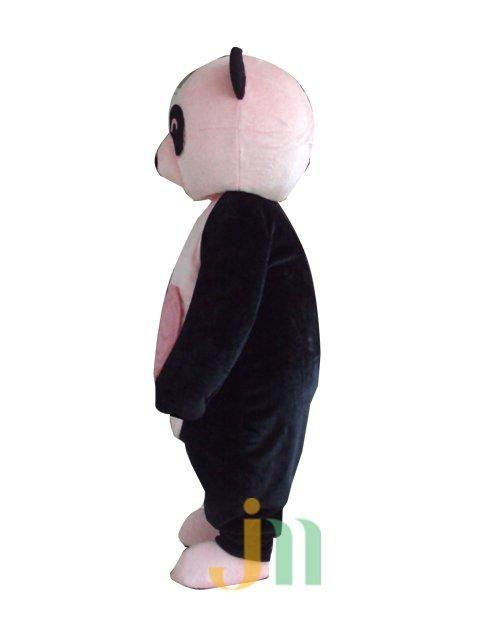 Cartoon Doll Clothing Walking Hedging Pink Panda Mascot Costume Decoration Animation Activities