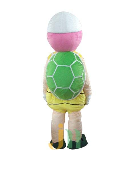Lovely Cartoon Doll Cartoon Clothing Tourism Turtle Tourism Turtle Walking Doll Set Doll Mascot Costume