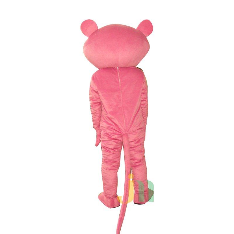 Pink Panther Cartoon Doll Cartoon Walking Doll Clothing Hedging Pink Panther Mascot Costume