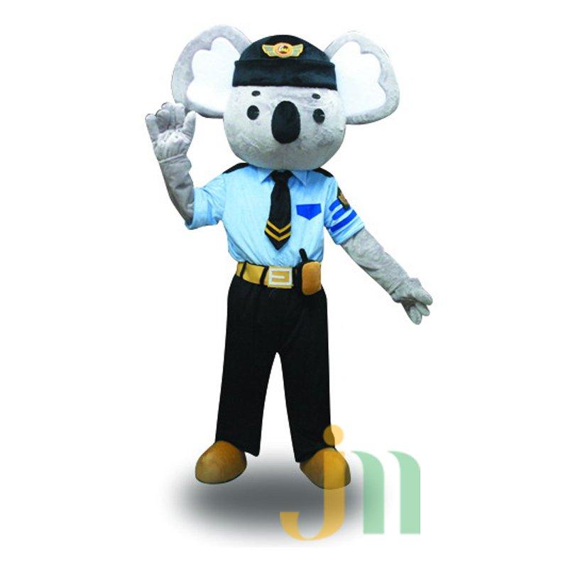 Security Koala Koala Cartoon Doll Cartoon Walking Doll Clothing Hedging Security Koala Mascot Costume