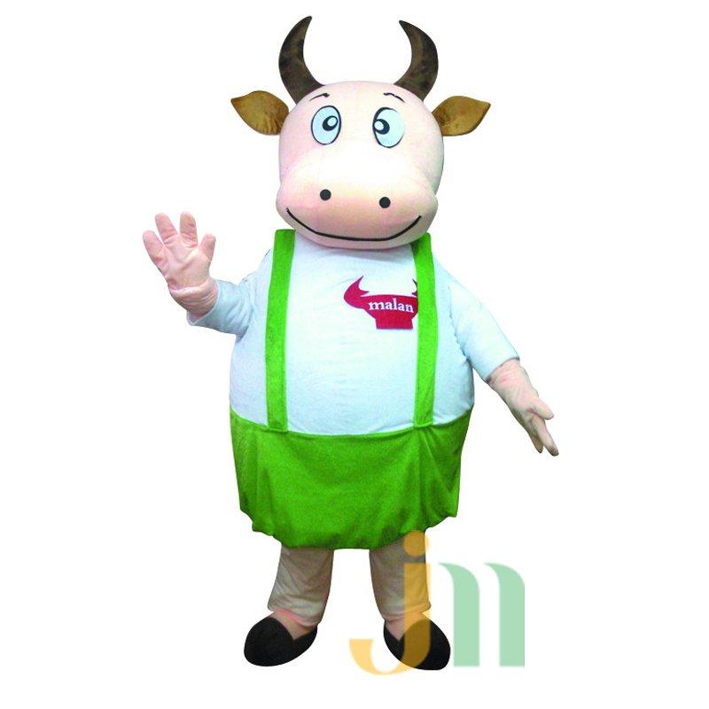 Cartoon Cow Dad Walking Doll Doll Cartoon Clothing Sets Head Female Father Mascot Costume