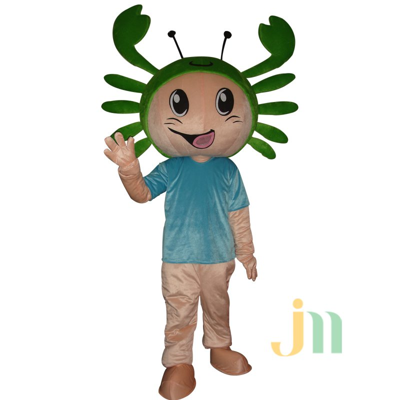 Cartoon Male Crabs Doll Cartoon Walking Doll Clothing Doll Sets Male Crabs Mascot Costume