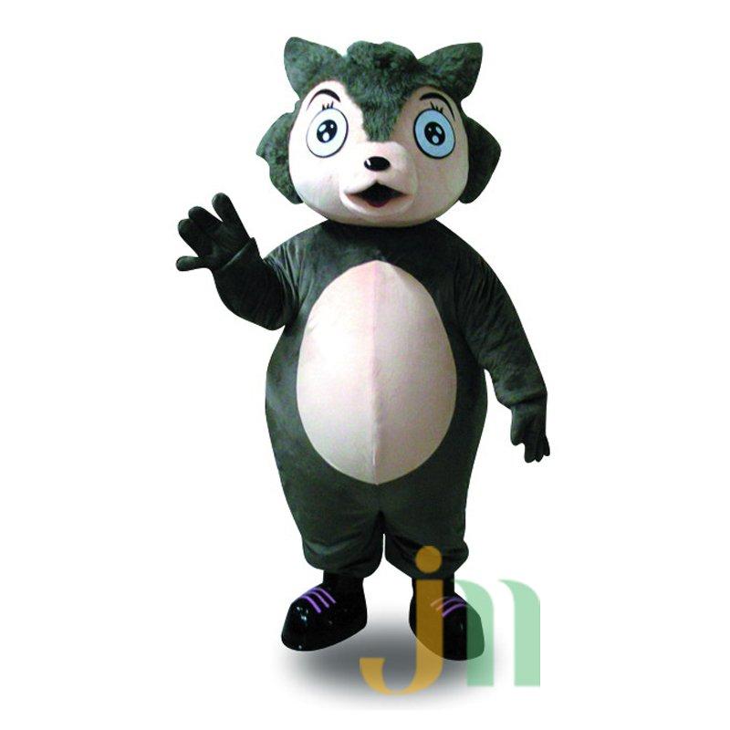 Cartoon Wolf Son Walking Doll Doll Cartoon Clothing Sets Wolf Son Mascot Costume