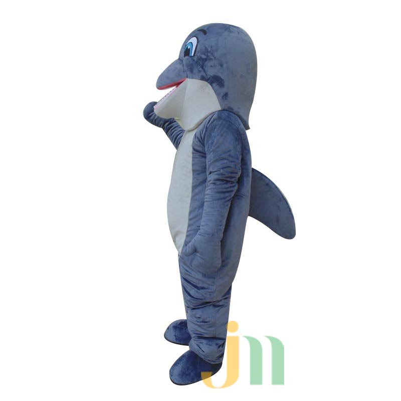 Dolphin Cartoon Doll Cartoon Walking Doll Clothing Sets of Dolphins Mascot Costume