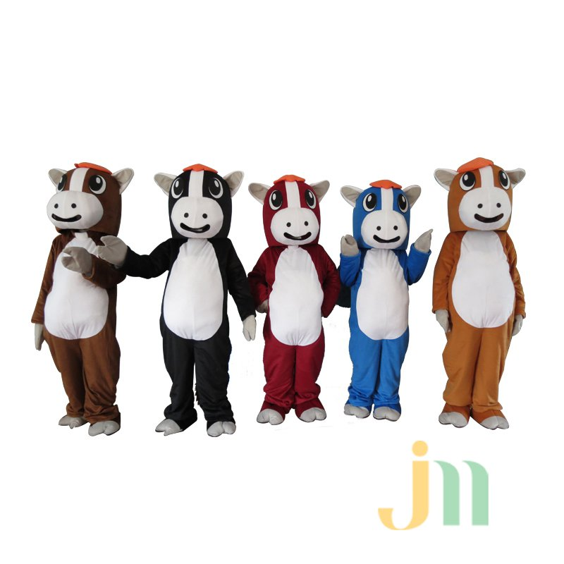 Five Cartoon Walking Doll Clothing Doll Cartoon Pony Hedging Five Pony Mascot Costume