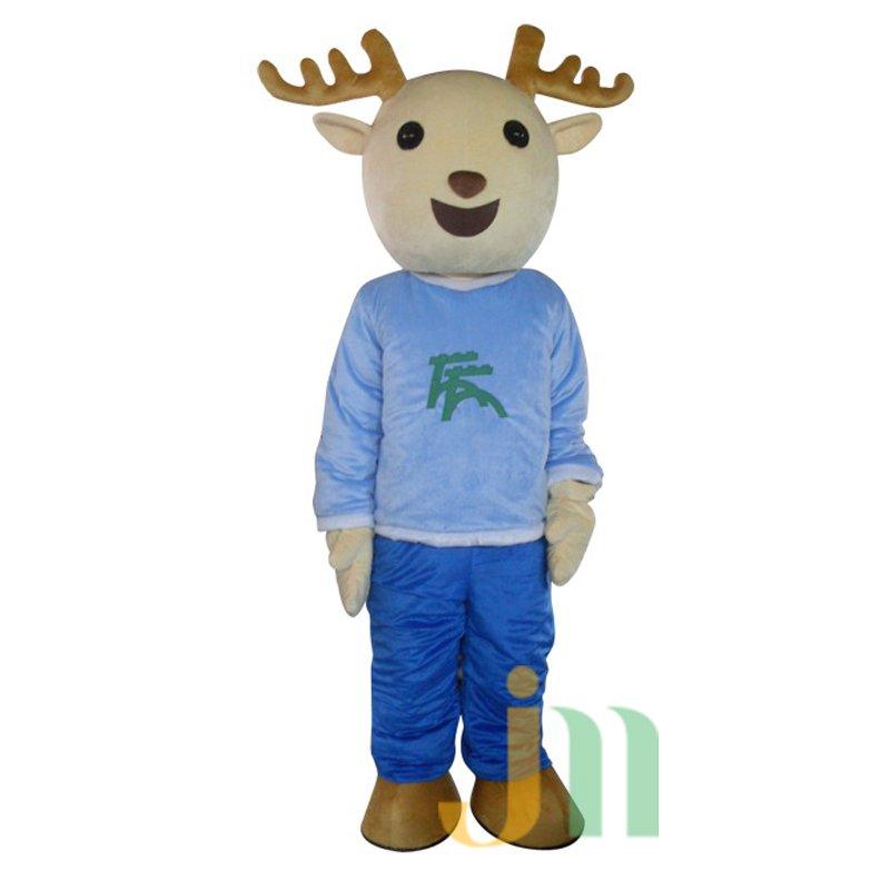 Morning Cartoon Walking Doll Clothing Doll Cartoon Deer Hedging Morning Deer Mascot Costume