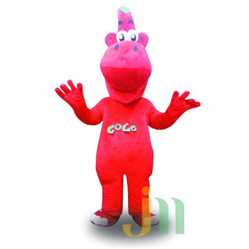 Red Dragon Doll Cartoon Clothing Cartoon Walking Doll Hedging Red Dragon Mascot Costume