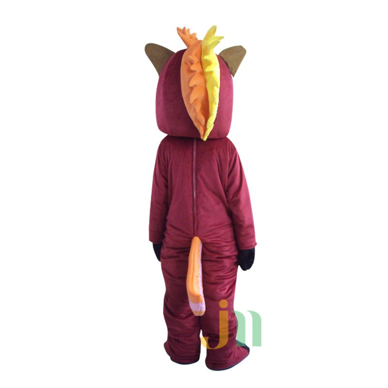 Cartoon Character Walking Doll Clothing Doll Cartoon Horse Hedging Handsome Personality Horse Mascot Costume
