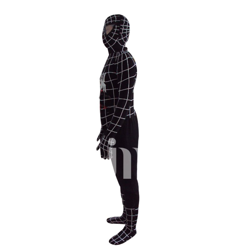 Cartoon Doll Cartoon Cute Black Spiderman Costume Walking Doll Hedging Black Spiderman Mascot Costume
