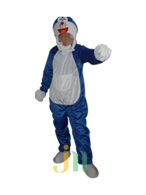 Cartoon Doll Clothing Faceless Walking Hedging Activities Anime Doraemon Doll Clothing Decoration Mascot Costume