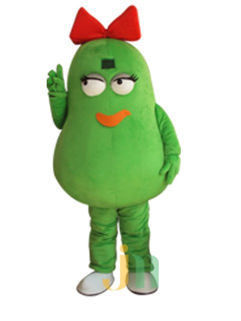 Cartoon Doll Clothing Papaya Woman Walking Hedging Mascot Costume Decoration Even Animation Activities