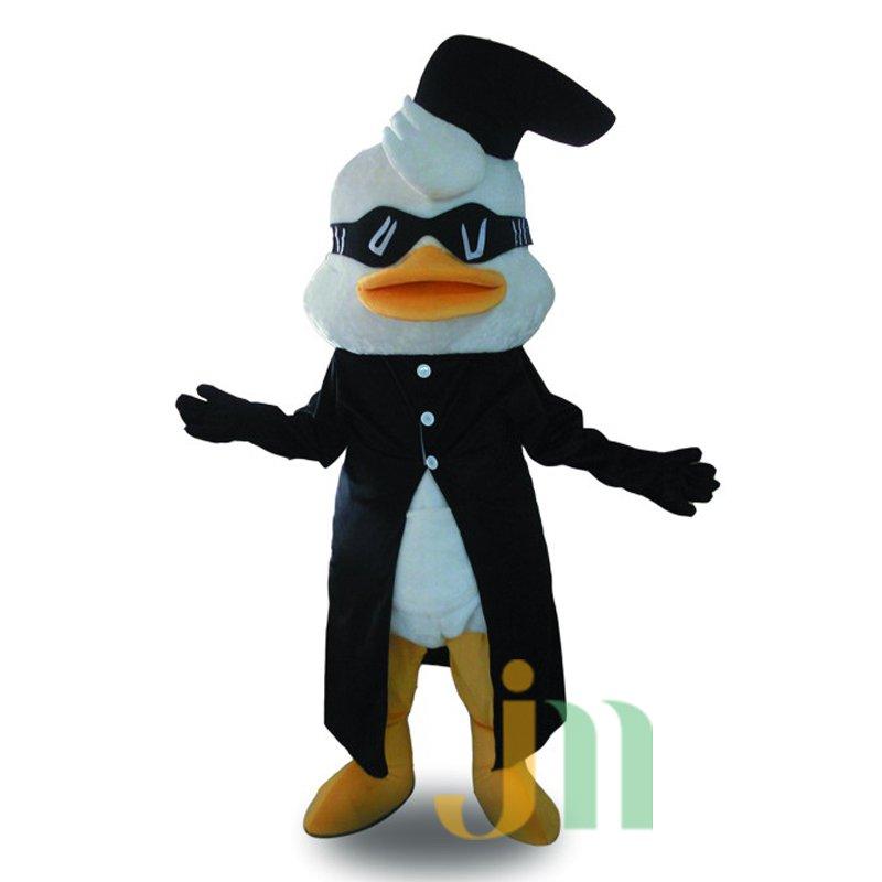 Cartoon Gangster Walking Doll Clothing Doll Cartoon Duck Hedging Gang Duck Mascot Costume