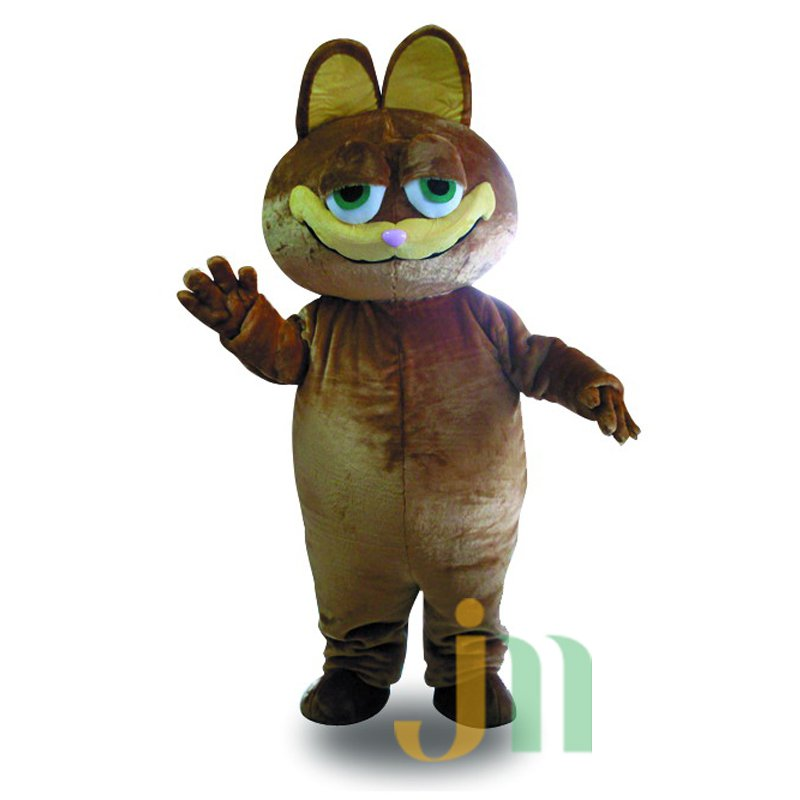Coffee Cat Cartoon Doll Cartoon Walking Doll Clothing Hedging Coffee Cat Mascot Costume