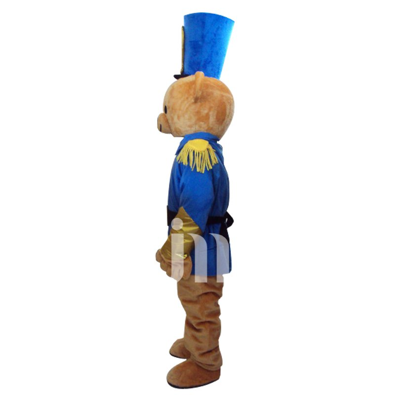 Cute Cartoon Bear Hat Walking Doll Doll Cartoon Clothing Sets Head Cute Bear Hat Mascot Costume