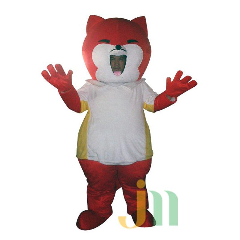 Faceless Cartoon Walking Doll Clothing Doll Cartoon Fox Hedging Faceless Fox Mascot Costume