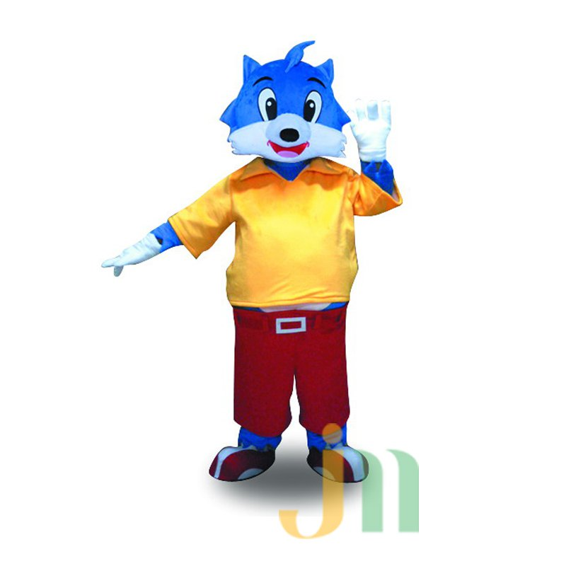 Naughty Blue Cat Three Thousand Asked Brother Blue Cat Cartoon Cat Dolls Clothing Walking Hedging Mascot Costume