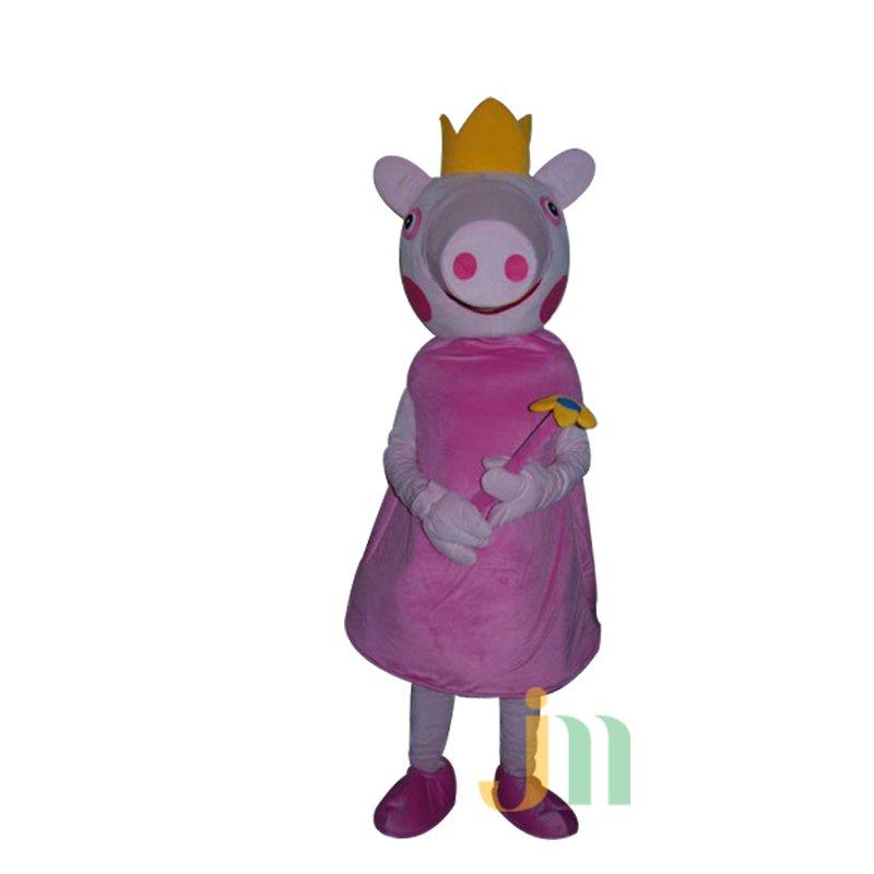 Queen Doll Cartoon Clothing Cartoon Pig Walking Doll Kit Doll Pig Queen Mascot Costume