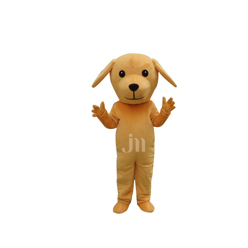 Small Yellow Dog Cartoon Doll Cartoon Walking Doll Clothing Sets of Small Yellow Dog Doll Mascot Costume