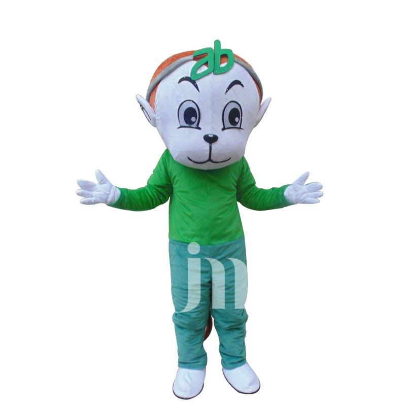 Ab Monkey Cartoon Doll Cartoon Walking Doll Clothing Hedging Stay Cute Monkey Cute Wind Ab Mascot Costume