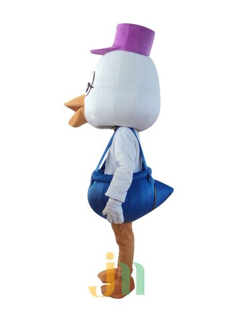 Aquarius Male Duck Walking Doll Cartoon Clothing Sets Head Aquarius Male Ducks Mascot Costume