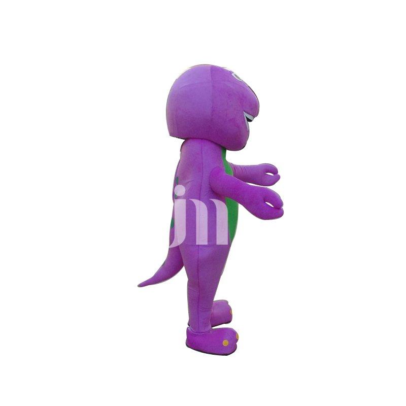 Barney Dinosaur Cartoon Doll Cartoon Walking Doll Clothing Sets Head Small Dinosaur Barney Mascot Costume