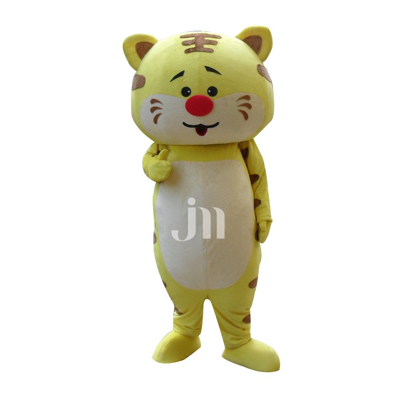 Card Stupid Tiger Doll Cartoon Walking Doll Clothing Hedging Lovely Stay Cute Simple-minded Tiger Mascot Costume