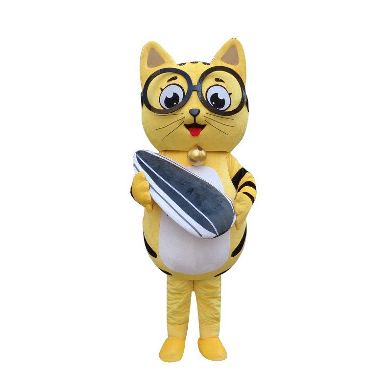Cartoon Cat Eyes Walking Doll Clothing Doll Cartoon Cat Eye Hedging Mascot Costume