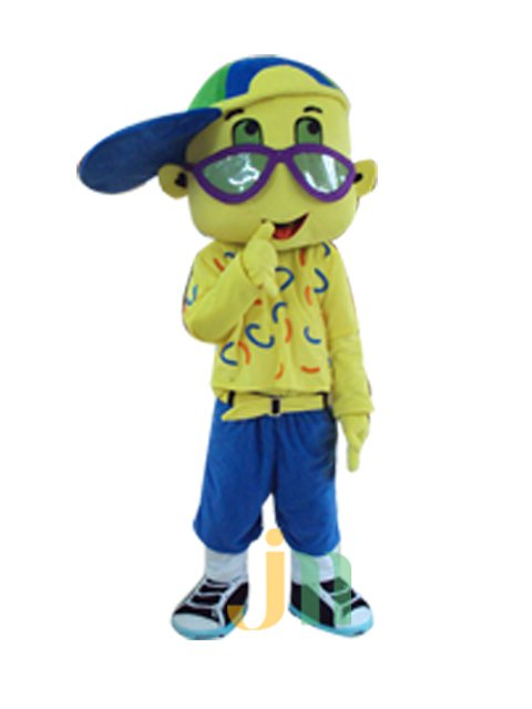 Cartoon Doll Clothing Walking Hedging Handsome Eyes Doll Clothing Decoration Animation Activities For Children Mascot Costume