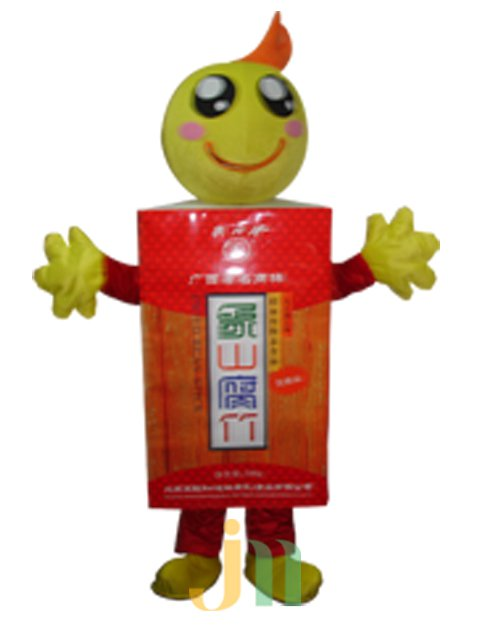 Cartoon Doll Clothing Walking Hedging Mascot Costume Decoration Guilin Three Huajiu Animation Activities