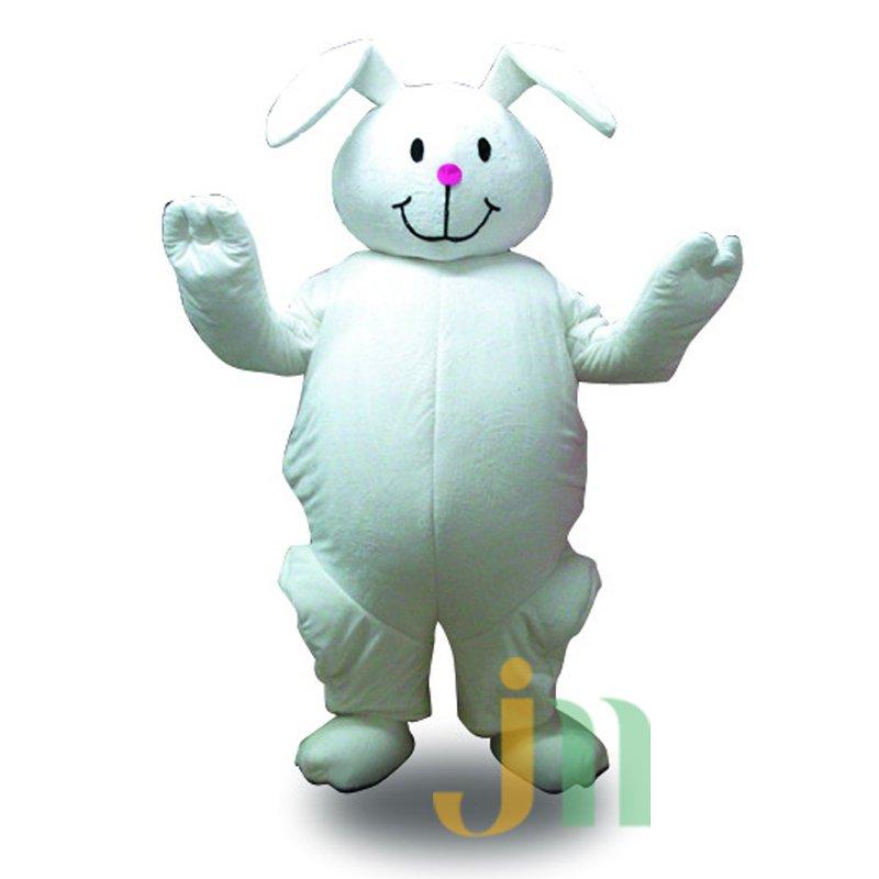 Cartoon Rabbit Doll Cartoon Walking Doll Clothing Hedging Rabbits Mascot Costume