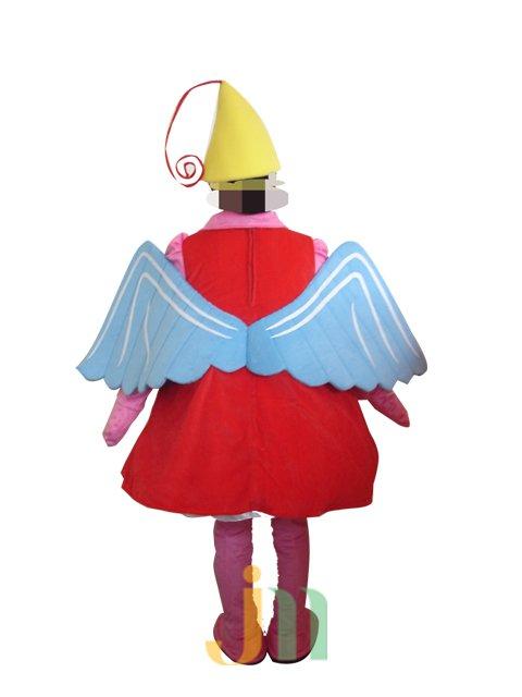 Dolls Walking Cartoon Clothing Sets Sail Baby Doll Head Mascot Costume Decoration Animation Activities