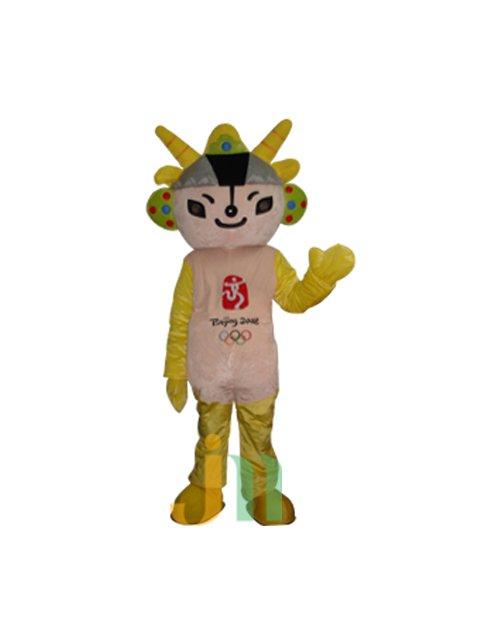 Fuwa Jingjing Lovely Cartoon Doll Cartoon Walking Doll Clothing Hedging Fuwa Jingjing Mascot Costume