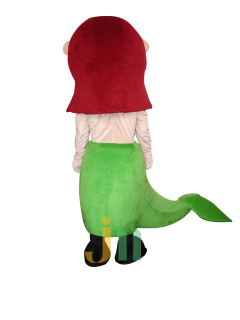 Lovely Cartoon Mermaid Doll Cartoon Walking Doll Clothing Sets Mermaid Dolls Mascot Costume