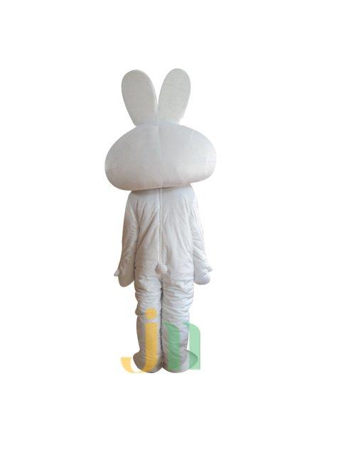 Lovely Cartoon Rabbit Doll Cartoon Walking Doll Clothing Hedging Rabbit Doll Mascot Costume